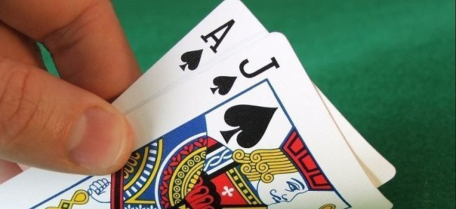 BlackJack online casino kortspel
