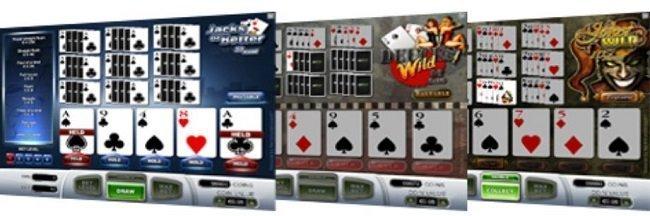 modern video poker