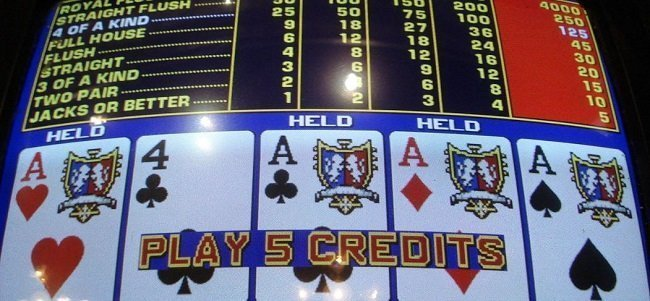 old school video poker