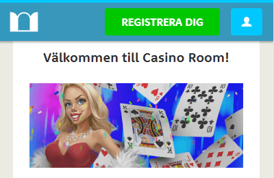 Casinoroom Välkommen
