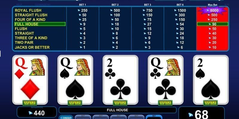 Videopoker (Jacks or Better)