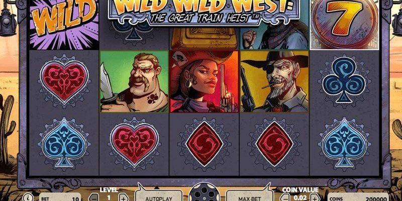 Wild Wild West: The Great Train Heist™