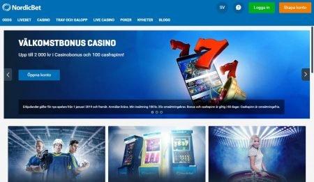 NordicBet casino välkomstbonus