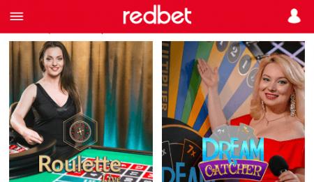 Redbet LiveCasino CTL