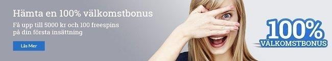Sverigeautomaten bonus