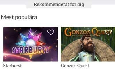 Sverigeautomaten spel