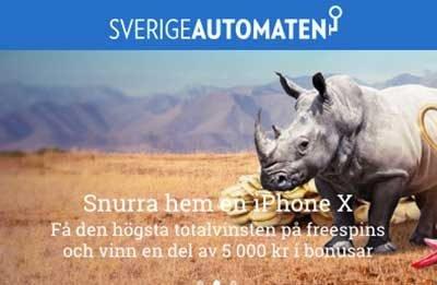 Sverigeutomaten kampanjer