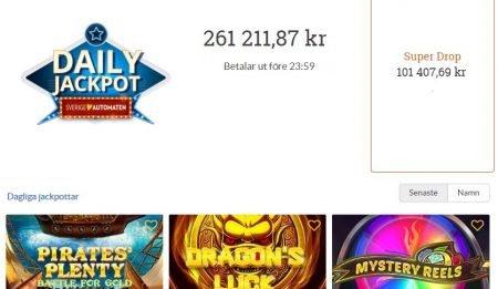SverigeAutomaten Jackpot