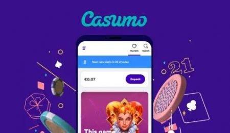 Casumo mobil app
