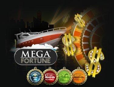 Storvinst på Mega Fortune