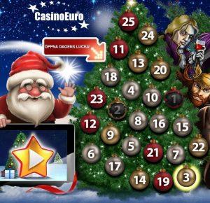 Julkalender hos CasinoEuro