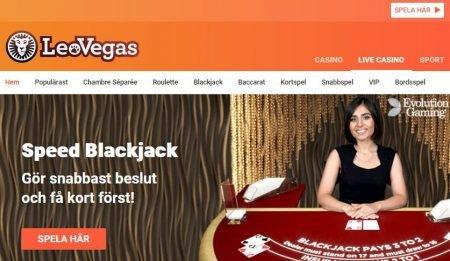 Leo Vegas live-casino