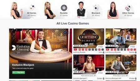 CasinoEuro Live-casino