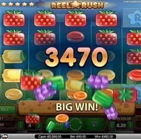 Reel Rush - en innovativ spelautomat från NetEnt