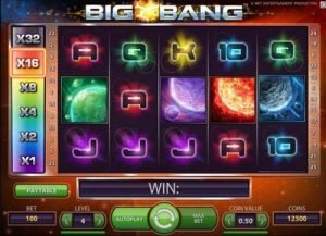 Net Entertainment släppte nyligen slotten Big Bang