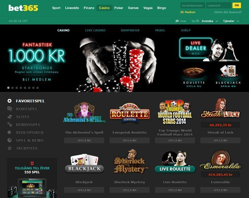 bet365 casino online chat