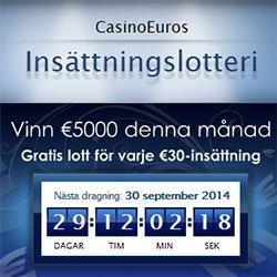 Vinn €5000 utan omsättningskrav
