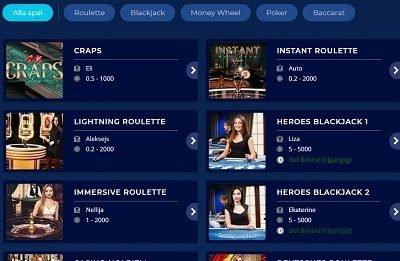 casino heroes live