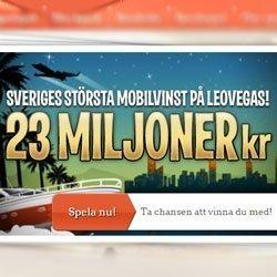 Svensk spelare vann rekordvinst på mobilen