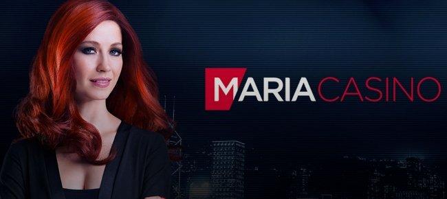 Maria Casino header