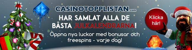 CasinoTopplistans julkalender