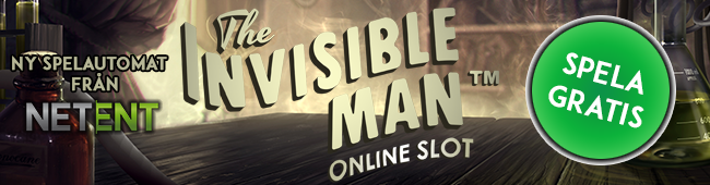 The Invisible Man - gratis spelautomat från NetEnt