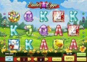 Easter Eggs - spelautomat från Play'n GO