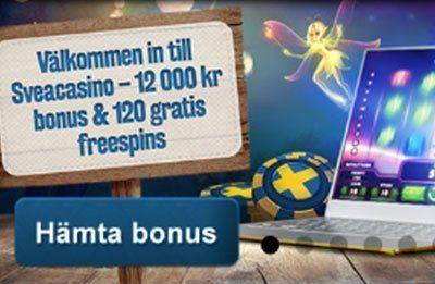 Svea Casino Welcome