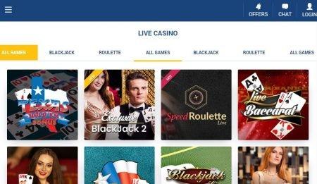 SveaCasino live casino