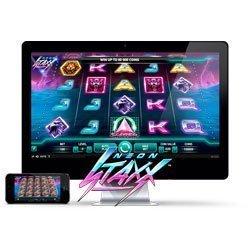 Neon Staxx spelautomat från NetEnt - Prova Gratis Online