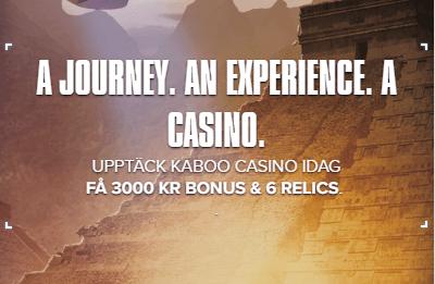 Kaboo Casino experience