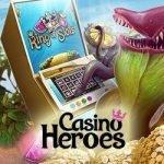 Casino Heroes: hämta upp till 150 freespins i helgen