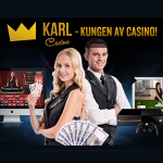 Spela live-roulette hos Karl Casino och vinn 50 freespins