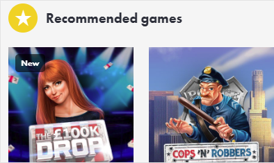Dunder recommended games