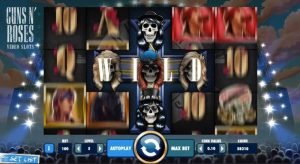 Guns n Roses - spelautomat från NetEnt