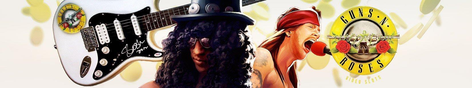 Guns N Roses - spelautomat hos InstaCasino