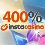 Sista chansen till 400% välkomstbonus hos InstaCasino