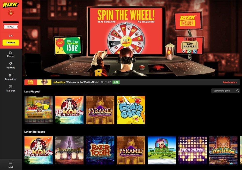 Yggdrasil Casino Turnering Hos Rizk Online Casino