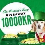 Rizk delar ut 17 500 kr på St Patrick's Day