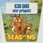 Vinn din del av priser värda €30 000 hos SveaCasino