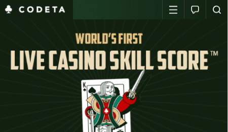 Codeta Skill Score Live Casino
