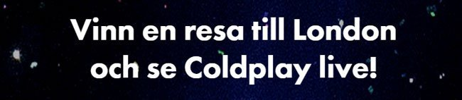 Dunder Casino: se Coldplay live