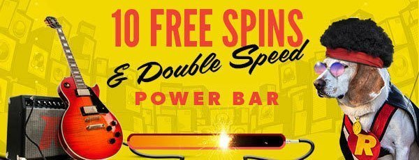 Rizk Casino - freespins på Jimi Hendrix Slot