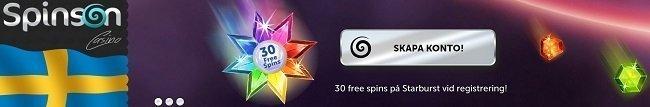 Spinson freespins