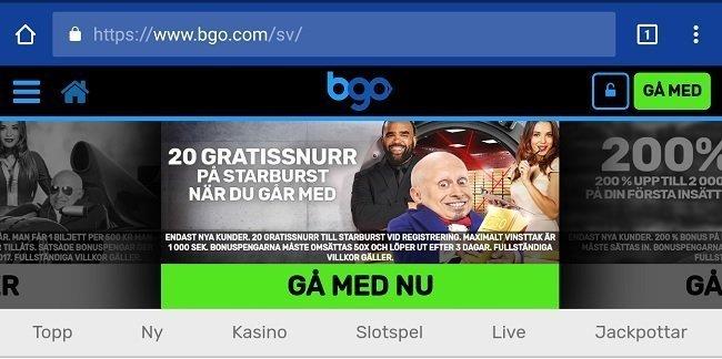 BGO mobile