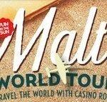 Soliga Malta väntar tio lyckliga vinnare hos CasinoRoom