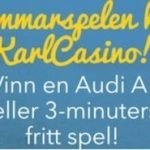 Vinn en bil i Karl Casinos nya kampanj