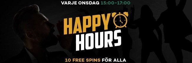 happy hour kampanj