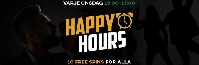 happy hour kampanj