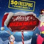 Rizkmas är igång med 1 500 freespins att hämta för alla Rizk-spelare